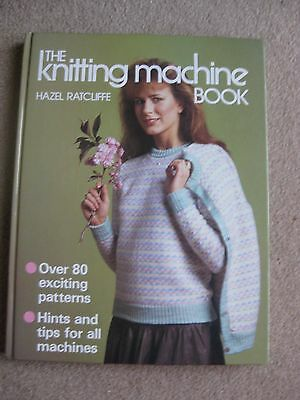 Machine Knitting Book By Hazel Ratcliffe Never Used H/b