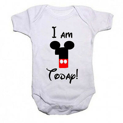 1st Birthday Vest Mickey Mouse Disney Personalised!!