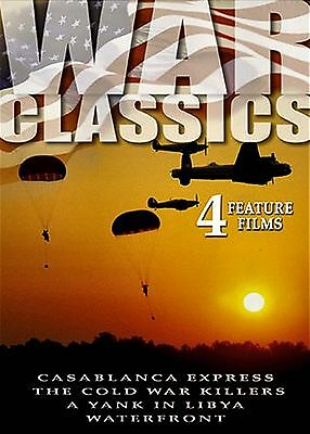 Used Dvd // War Classics - Casablanca Express + Waterfront + Cold War Killers +