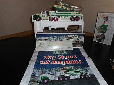 Hess Truck 2002 Truck And Airplane In Mint Condition