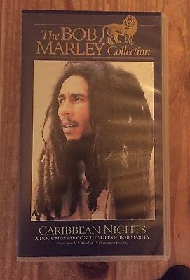 "The Bob Marley Collection ""Caribbean Night"" VHS"
