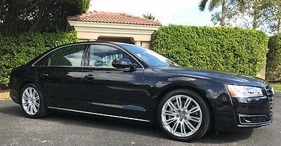 2015 Audi A8 4dr Sedan 4.0T AUDI A8 4.0T V8 ABSOLUTELY IMPECCABLE WINDOW STICKER WHEN NEW WAS $104,435