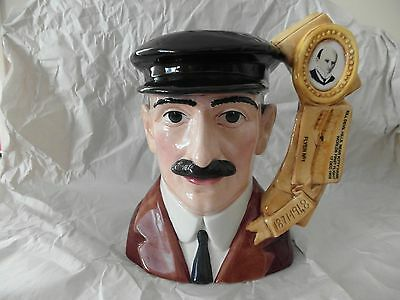 "royal doulton character jug large VERY RARE ""ORVILLE WRIGHT "" D 7178"