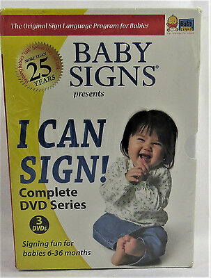 Baby Signs I Can Sign! Complete DVD Series