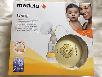 medela swing electric breast pump With Calma Bottle And Spare Bottle