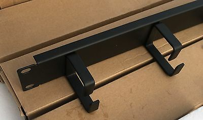 1U Network cable management panel Lot of 3