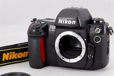 [Excellent ++] Nikon F100 35mm SLR Film Camera Body Only From Japan""