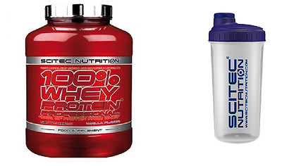 100% Whey Protein Professional 2350g Scitec  coconut plus shaker