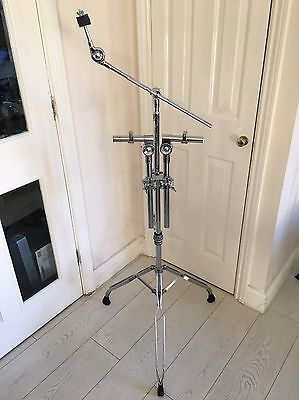 Double Braced Double Tom Tom & Boom Cymbal Stand For Drum Kit