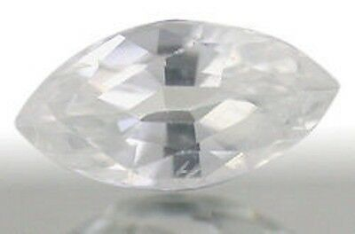 Outstanding Top White ZIRCON Marquise Cut 8x4 mm
