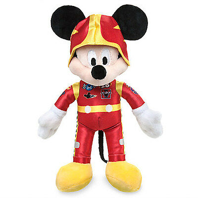 "Disney 9 1/2"" Mickey Mouse Plush Mickey and the Roadster Racers New with Tags"