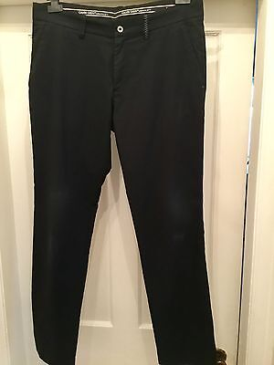 Galvin Green Nash Black Mens Golf Trousers Size 34/32