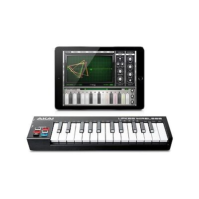 Akai Professional Lpk25 Wireless Mini Tastiera Midi A 2 Ottave Bluetooth E Usb
