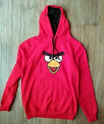 The Angry Birds 2016 Movie Promo Swag Red Hoodie Sweatshirt Adult Med New Rare
