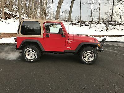 2001 Jeep Wrangler sport  2001 JEEP WRANGLER 4.0 6 CYL 5 SPEED - 1 OWNER JEEP - RUNS 100% - NO RESERVE!!!