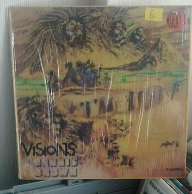 Dennis brown - visions - roots reggae - Vinyl LP