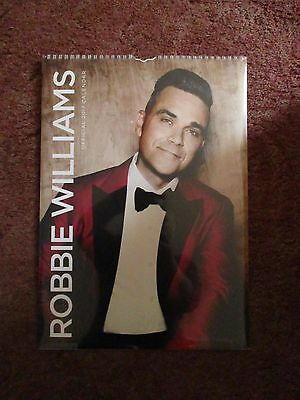 Robbie Williams brand new official 2017 calender