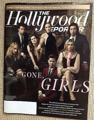 Hollywood Reporter With The Cast Of Girls On The Cover Feb 2017