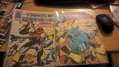 Transformers Marvel UK Issues 71 and 173