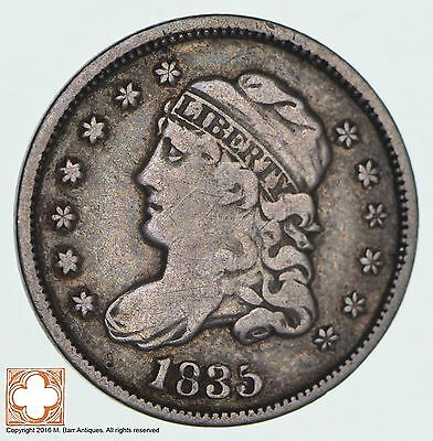 1835 Capped Bust Half Dime *0564