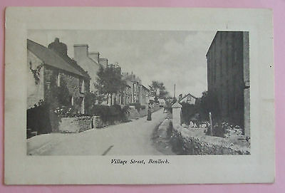 Postcard c.1915 VILLAGE STREET BENLLECH ANGLESEY WALES