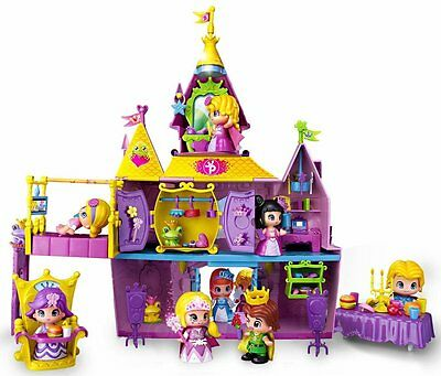Pinypon Princess Palace With 1 Figure and 40 Accesories Damaged Box