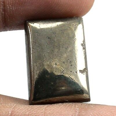 27.15 cts Natural Quality Gold Pyrite Cabochon Octagon Loose Gemstone Jewelry