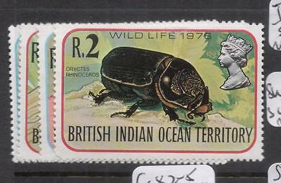 British Indian Ocean Territory Insects SC 86-9 MOG (11dhy)