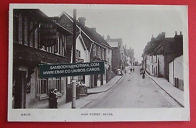 KINGSWAY RP Postcard POSTED c.1920 HIGH STREET OXTED SURREY