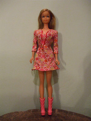 Vintage 1970's Barbie doll with Steffie head mould, straight leg, TNT, Japan.