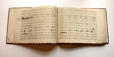Beethoven Eroica Deluxe Facsimile Edition 1993 Manuscript, first volume missing