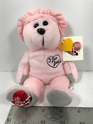 """New Limited Edition """"I Love Lucy"""" Chocolate Factory Pink Teddy Bear Episode 39"""