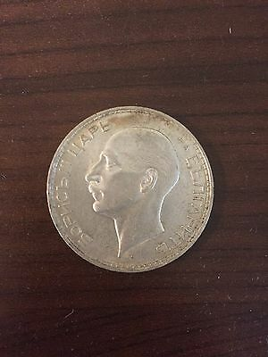 1937 Bulgarian Kingdom Boris III 100 Leva Coin