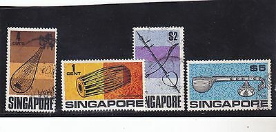 Stamps of Singapore.
