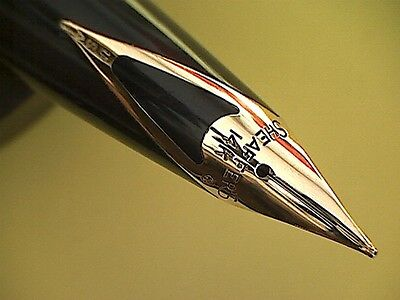 Sheaffer  Blue With Gold Filled Trim And 14 Carat Nib.
