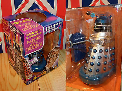 Remote Controlled DR.WHO and the DALEKS Movie BLUE + SILVER Dalek Mint/Boxed