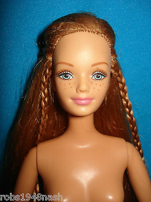 Mattel Barbie Happy Family Midge Doll Red Hair Jointed Arms Nude Doll