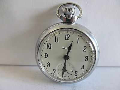 1960s vintage smiths pocket watch in very good condition and working