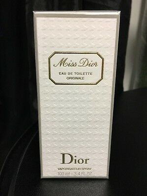 Genuine Miss Dior Eau De Toilette Originale 100ml Perfume (still sealed)