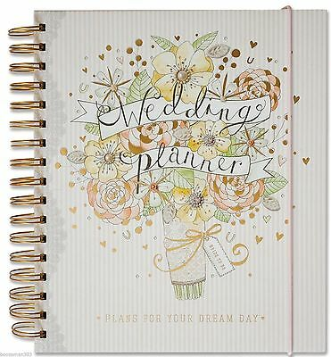 Deluxe Wedding Planner Book Diary Journal Organiser - Engagement gift