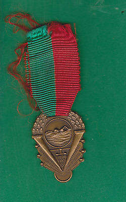 Portugal Swimming medal with ribbon schwimmen pin badge