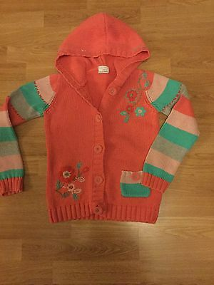 Next Girls Knitted Jacket Age 7/8 Years Excellent Condition