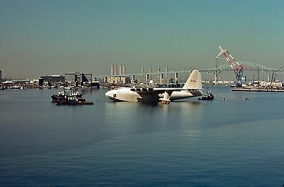 4 Original 35mm  Slides Howard Hughes H-4 Hercules N37602 CN 1  Spruce Goose