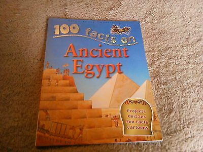 Children's book 100 facts on ancient Egypt