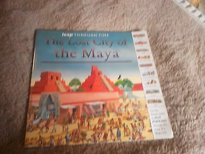 Children's book on  the lost city of maya