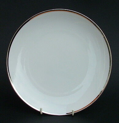 Thomas Medallion 4mm Wide Platinum Band 798 Sm Dinner Breakfast Plates 24cm VGC