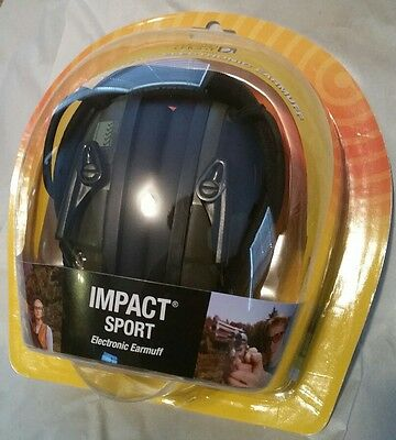 New Howard Leight R-01526 Impact Sport Electronic Shooting Ear Muffs