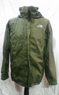 Mens The North Face Hyvent Waterproof Breathable Jacket Size Medium