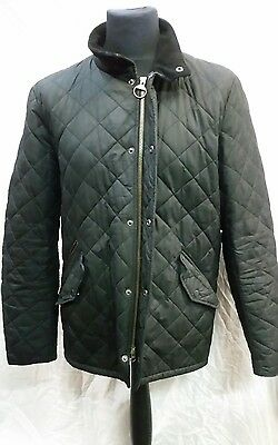 Mens Barbour Chelsea Sports Quilted Jacket Size Large