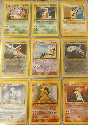 Pokemon - 1St Edition - Neo Genesis -  Complete Set - Mint - Nm - 111/111